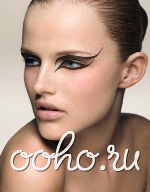 Гламурный макияж для стильных девушек