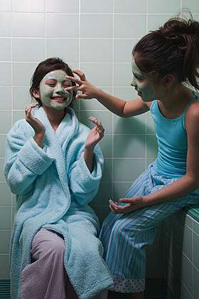 Освежающая маска для сухой кожи лица