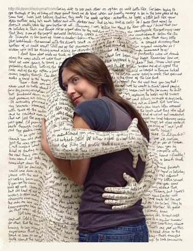 Писать стихи в картинках о любви