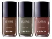 Эксклюзив от Chanel — лаки в цвете хаки