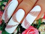 Свадебный рисунок на ногтях — необходимо каждой невесте