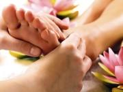Массаж ступней ног — самая расслабляющая процедура