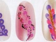 Как создать легкие рисунки на ногтях иголкой