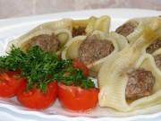 Как приготовить фаршированные макароны по-итальянски