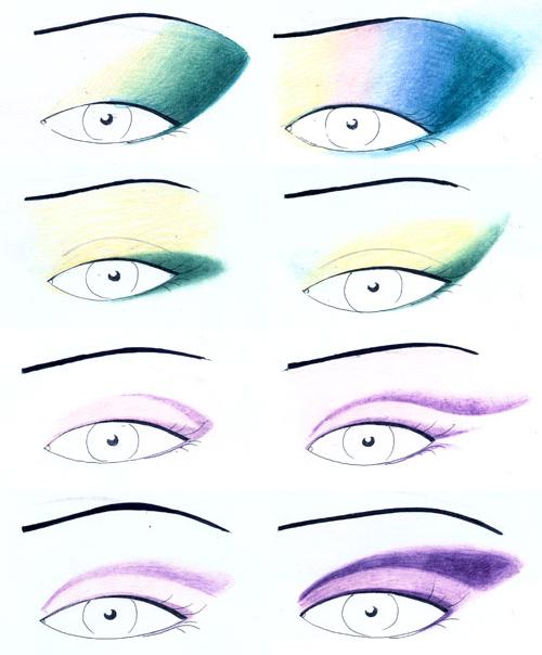 Глаз макияж глаз серых макияж глаз
