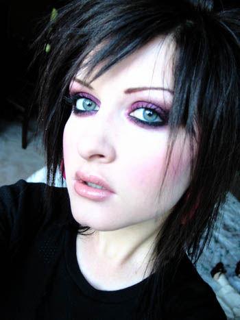 эмо макияж, как сделать эмо макияж, эмо макияж фото, эмо макияж в картинках, эмо макияж видео, макияж в стиле эмо