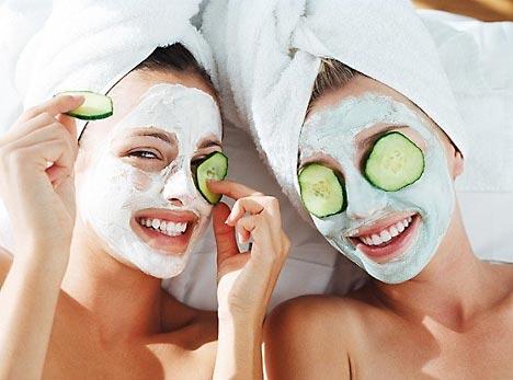 маска для лица, уход за кожей лица