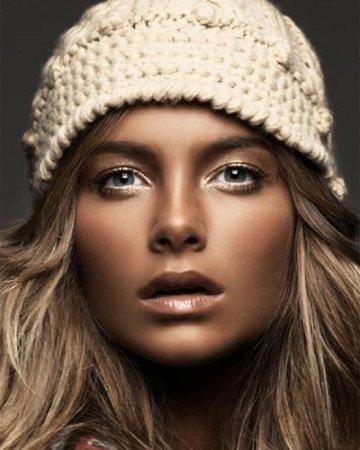 гламурный макияж