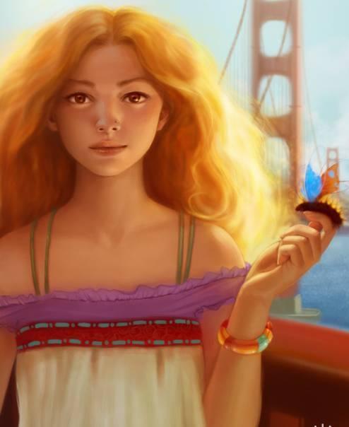 девушка солнце, девушка освещенная солнцем