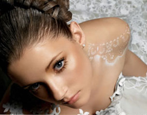 Проверка стойкости макияжа до свадьбы
