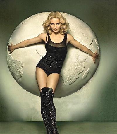 Энергия и красота Мадонны