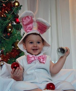 Новогодние детские костюмы в выкройками
