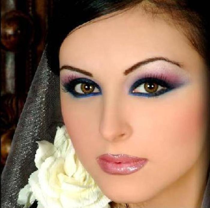 Стильный и яркий макияж несколько