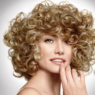 Как выглядит биозавивка на короткие волосы на фото? А в реальности?