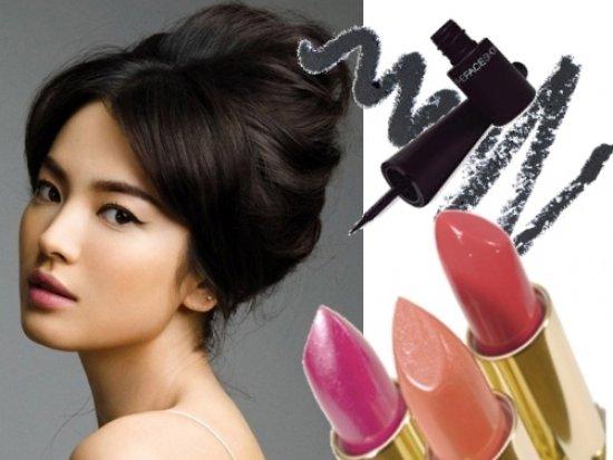 Красивый макияж для брюнеток под цвет глаз